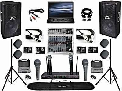 مكونات انظمة صوتية